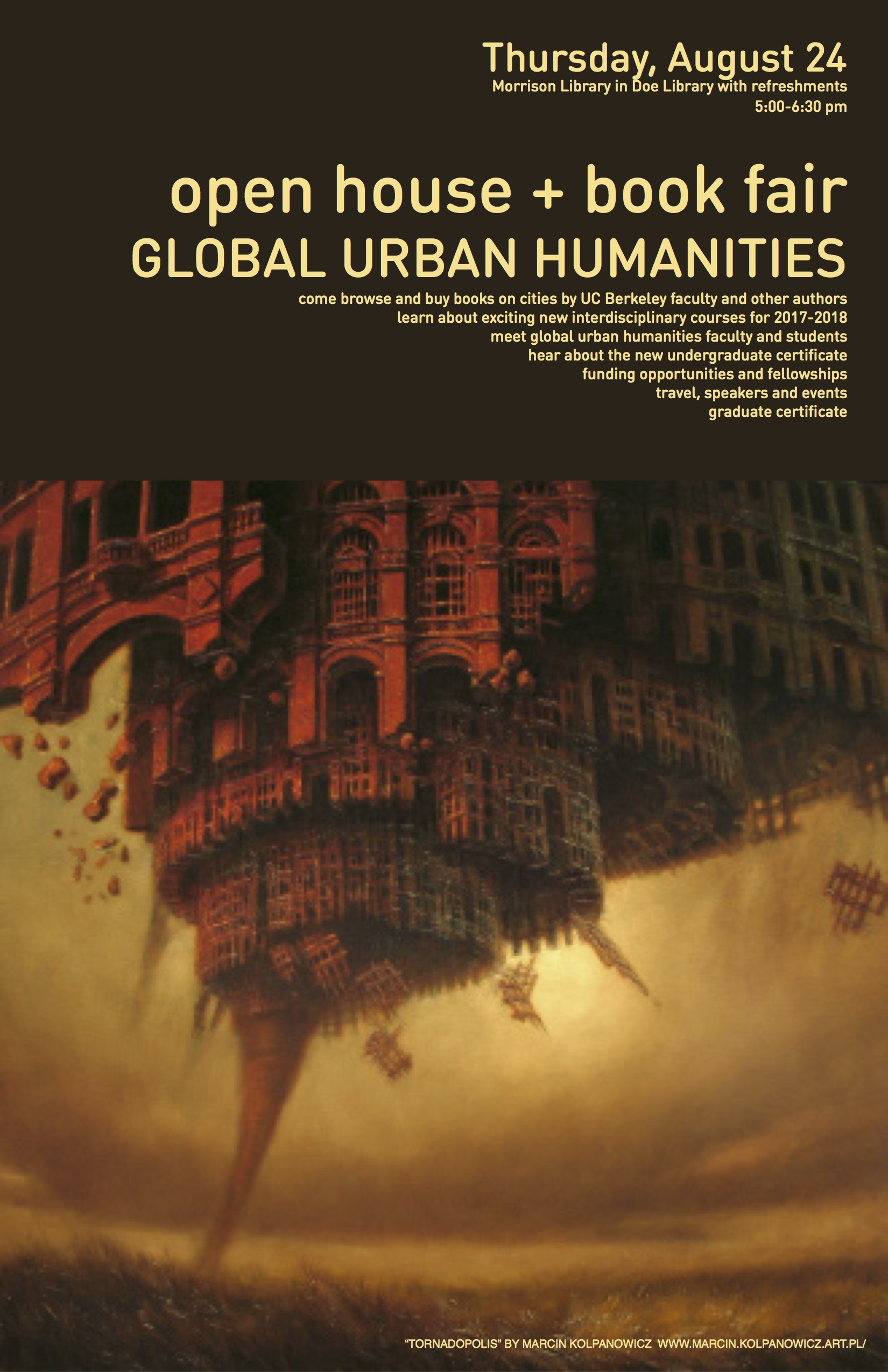 Past events 2017 global urban humanities guh celebrated the start of the fifth year of activities over 90 attendees from across campus and the public browsed books authored or edited by guh xflitez Gallery