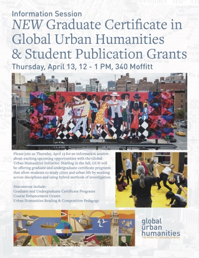 Graduate Certificate + Student Publications Info Session | Global ...