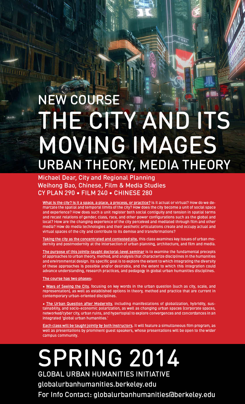 The City and Its Moving Images   Global Urban Humanities