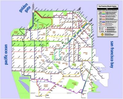 A Simplified, User-Friendly Bike Map for S.F. Riders ... on oregon city bike map, germany bike map, saint paul bike map, angel island bike map, bellingham bike map, dallas bike map, toronto bike map, portland bike map, tigard bike map, athens bike map, hawaii bike map, northern virginia bike map, bay area bike map, longmont bike map, tampa bike map, atlanta bike map, key west bike map, st. louis bike map, ohio bike map, sunnyvale bike map,